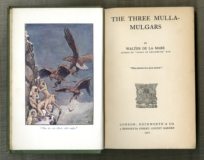 1910THE THREE MULLA-MULGARS