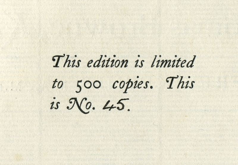 A BIBLIOGRAPHY OF SIR THOMAS BROWNE limited 500 copies