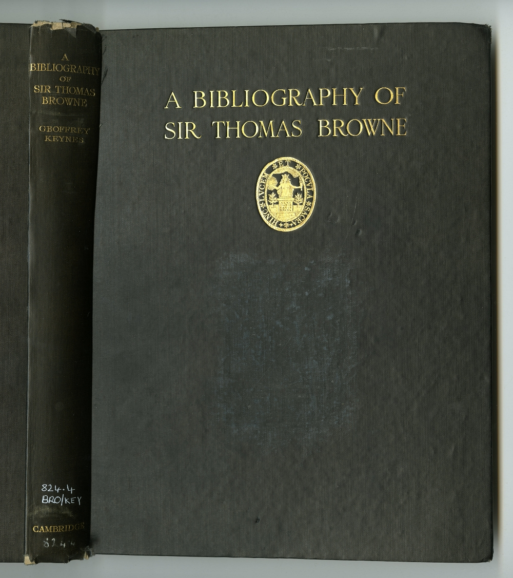 A BIBLIOGRAPHY OF SIR THOMAS BROWNE