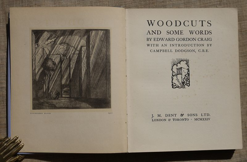 1924 Gordon Craig Woodcuts titlepage01