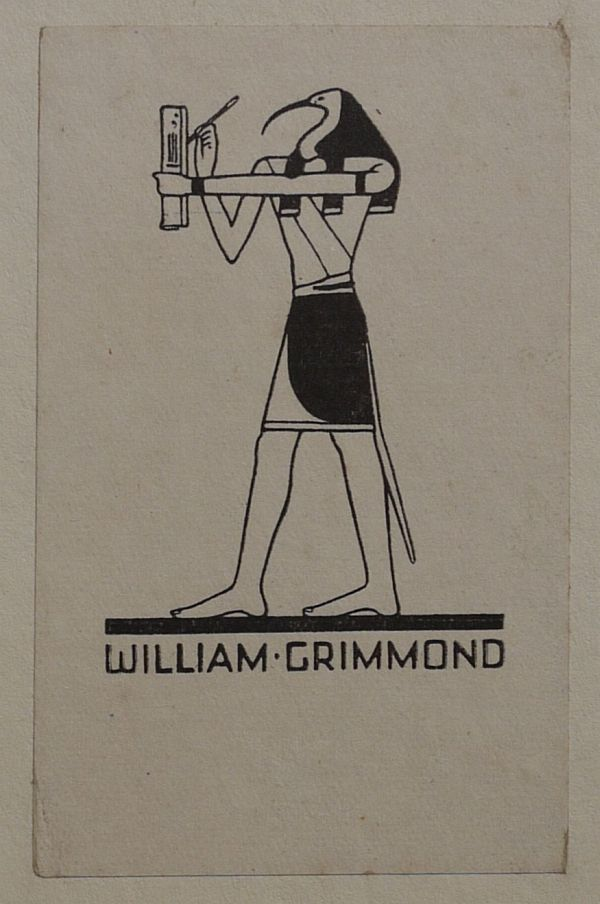 1924 William Grimmond 01