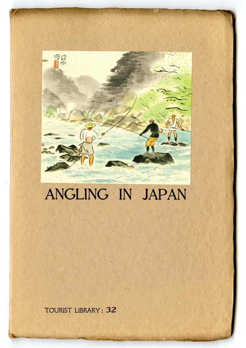 1940 ANGLING IN JAPAN Cover