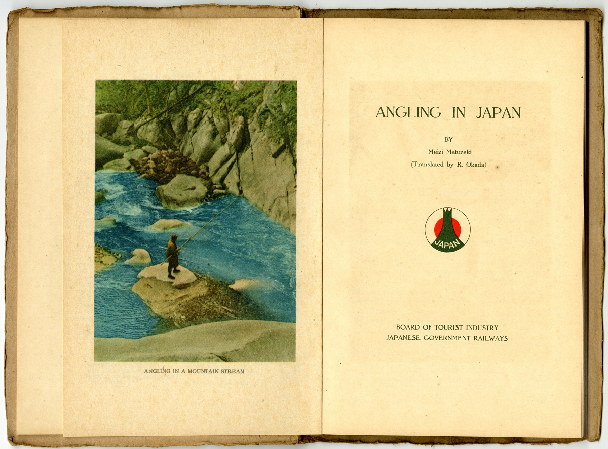 1940 Angling in Japn Titlepage