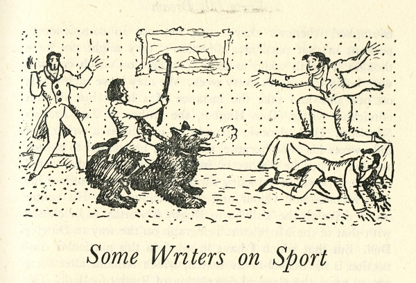 Some Writers on Sport