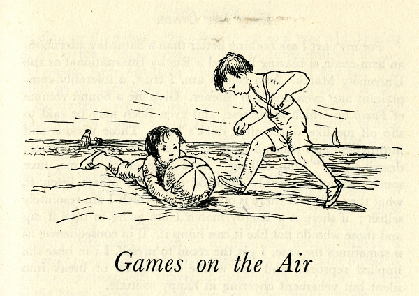 Games on the Air