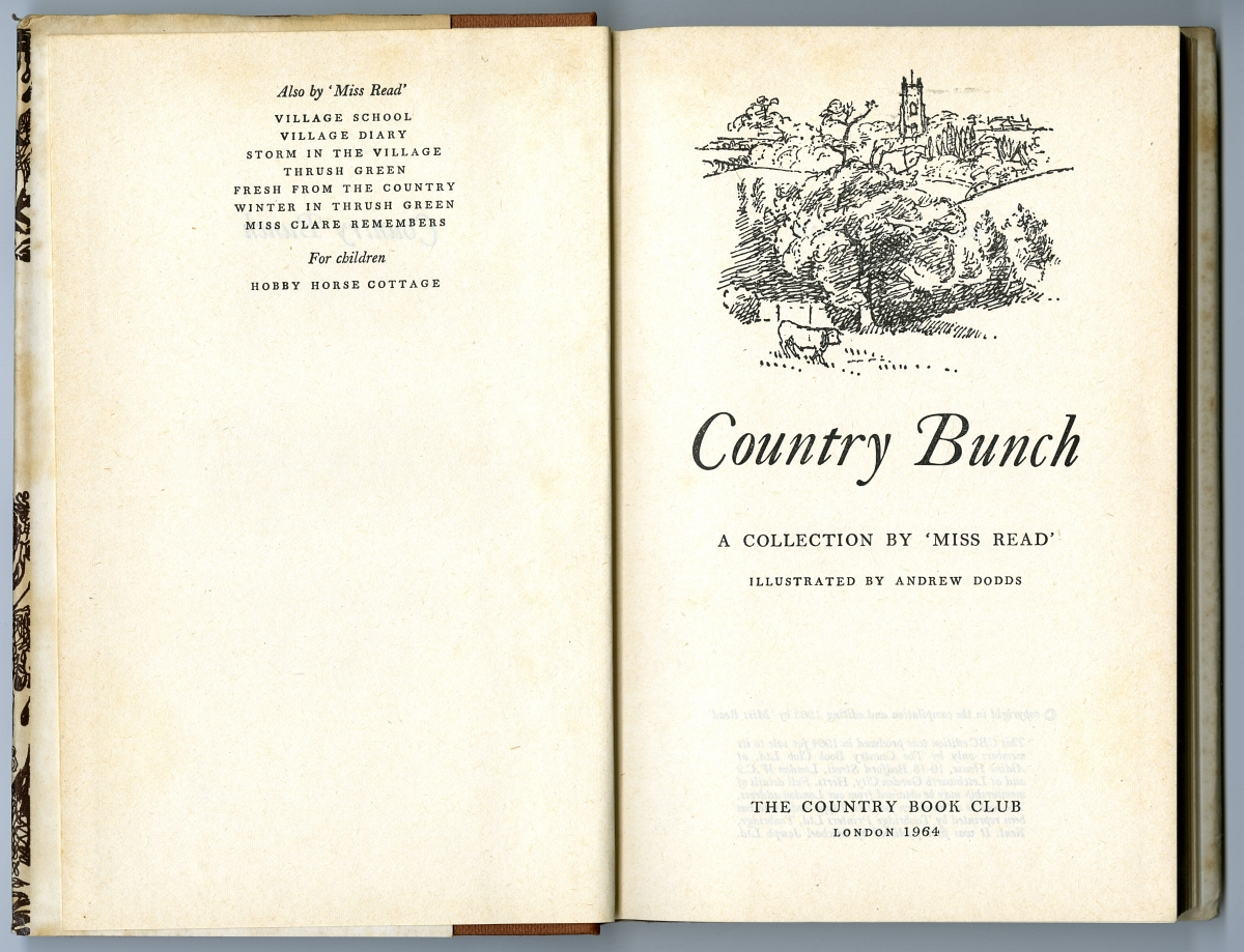 1964 Country Book Club Country Bunch
