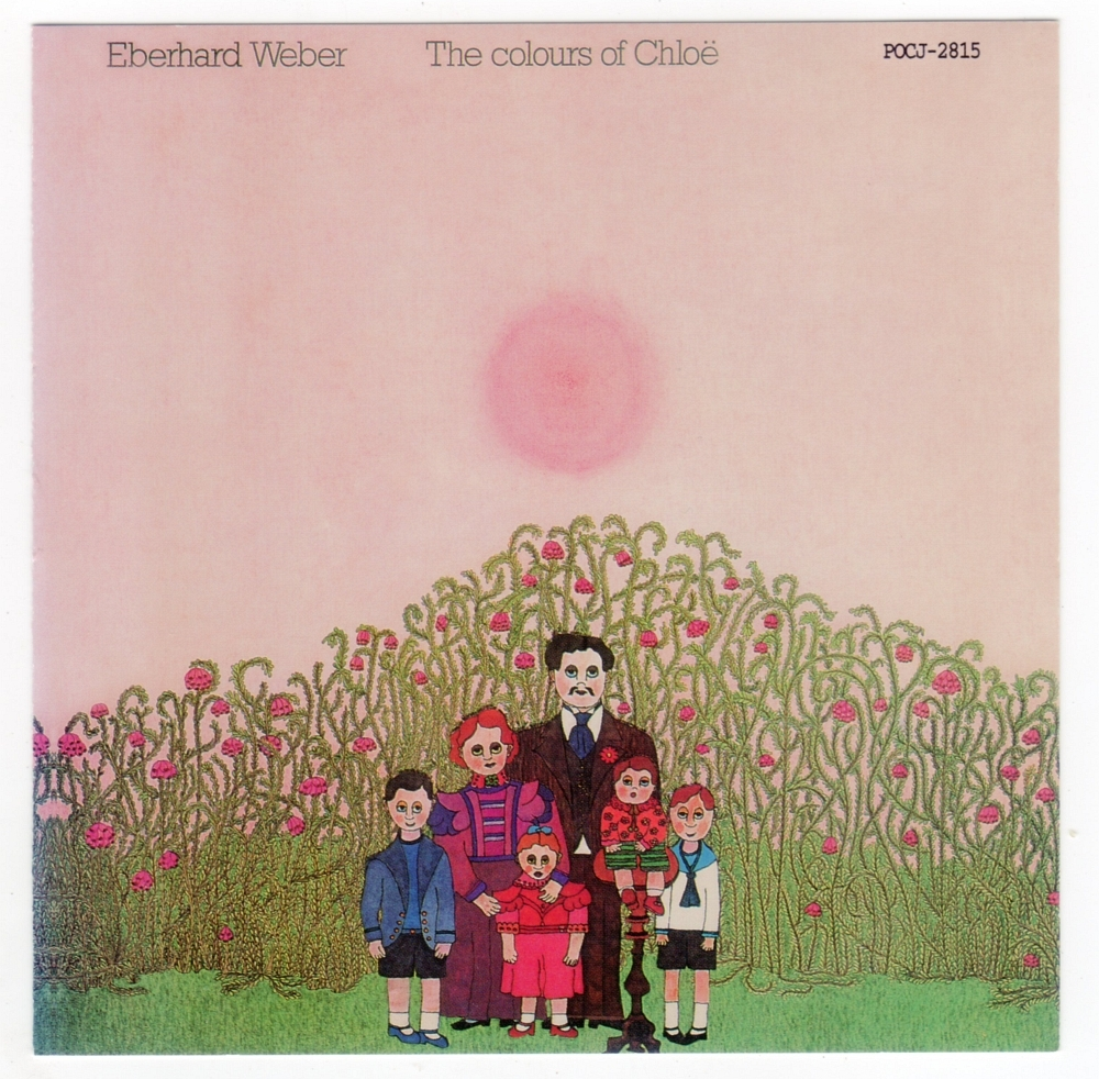 Eberhard Weber『The colours of Chloë』