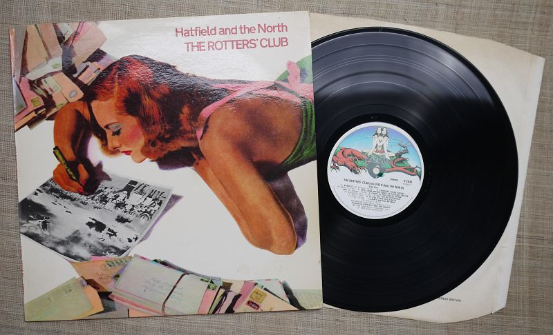 1975Hatfield and the North_The Rotters' Club