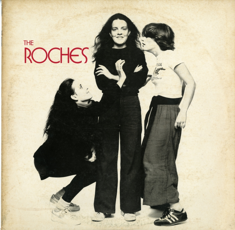 The Roches『The Roches』(1979年、ワーナー・パイオニア) 日本盤のジャケット表