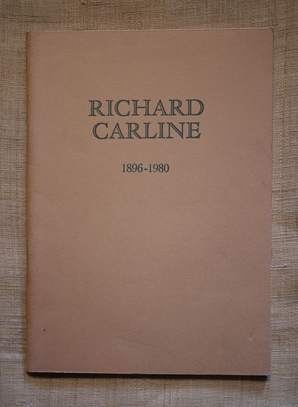 1983Richard Carline_catalogue