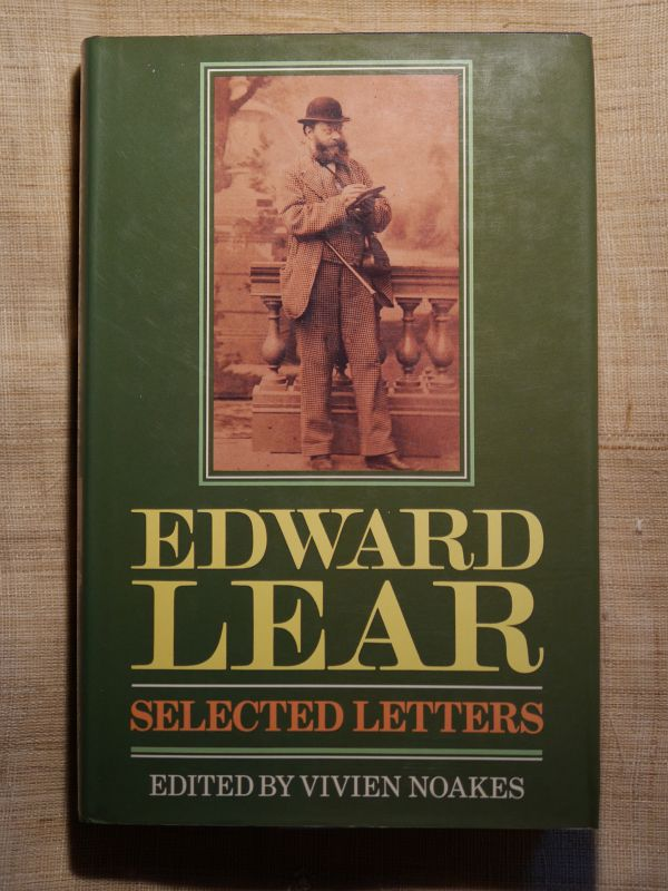 1988EDWARD LEAR_SELECTED LETTERS