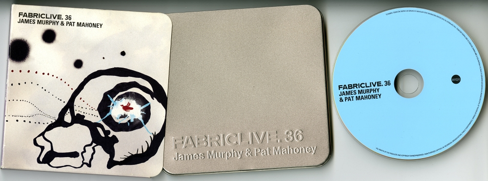 James Murphy & Pat Mahoney『FABRICLIVE 36』(2007年、FABRIC RECORDS)