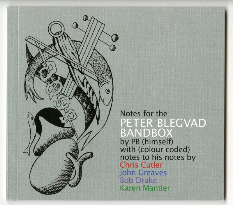 『Notes for the PETER BLEGVAD BANDBOX』表紙