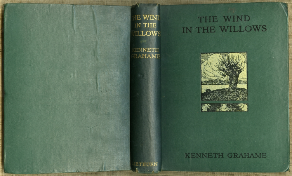 Kenneth Grahame『The Wind In The Willows』1913年第7版表紙