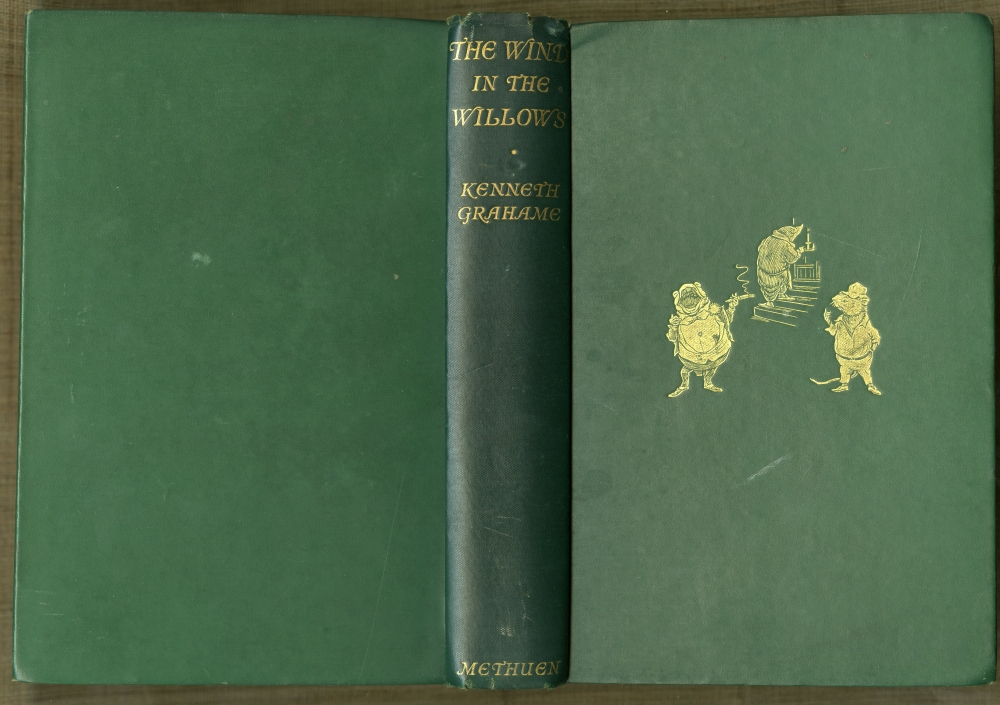 Kenneth Grahame『The Wind In The Willows』 1931年第38版表紙