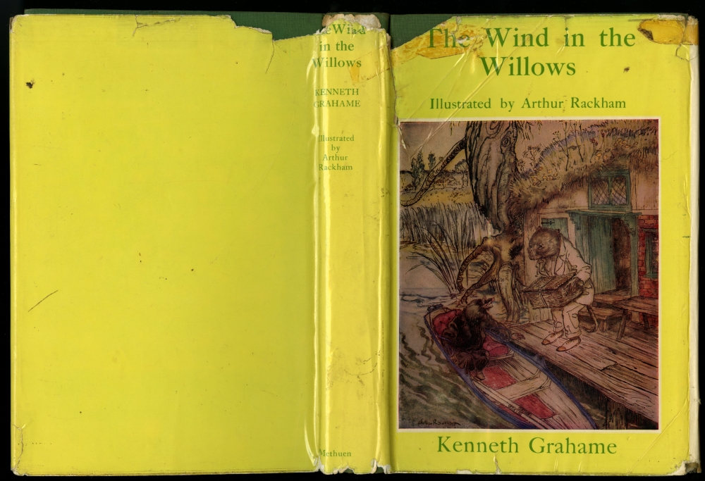 Kenneth Grahame『The Wind In The Willows』 ラッカム装画版ダストラッパー