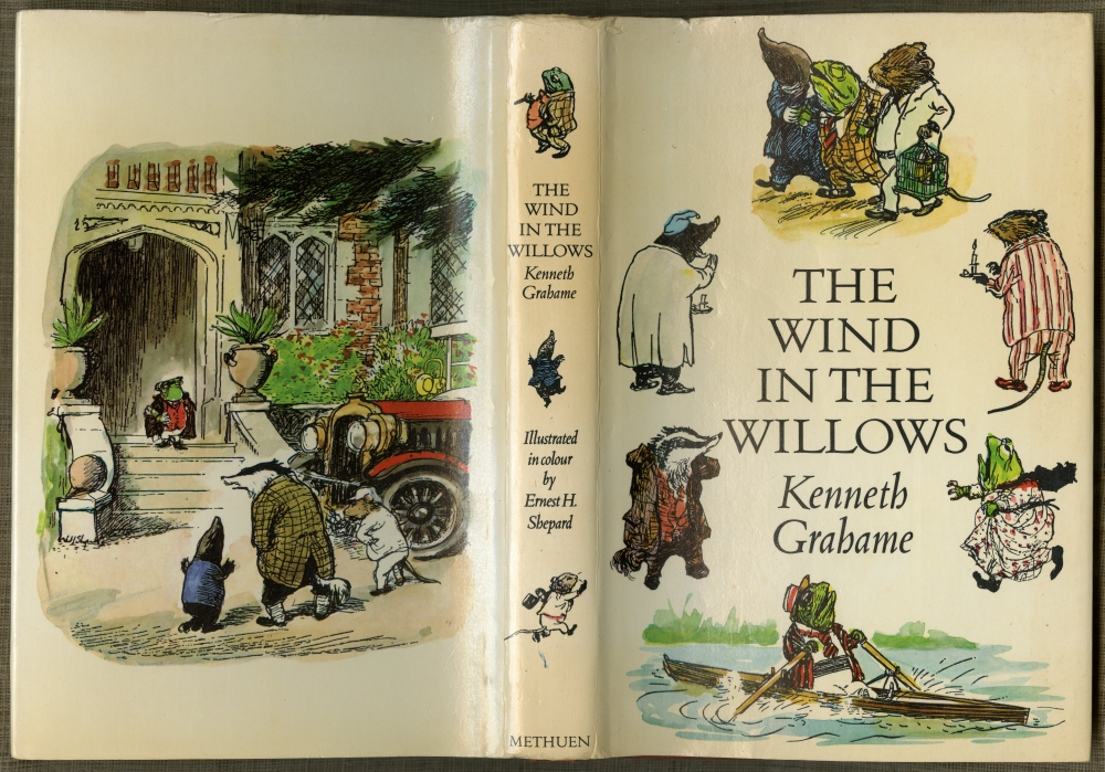 Kenneth Grahame『The Wind In The Willows』1971年版ダストラッパー
