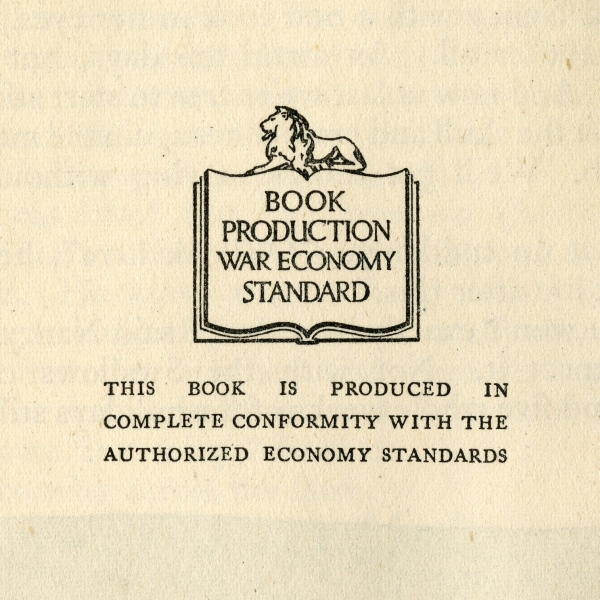 「Book Production War Economy Standard」