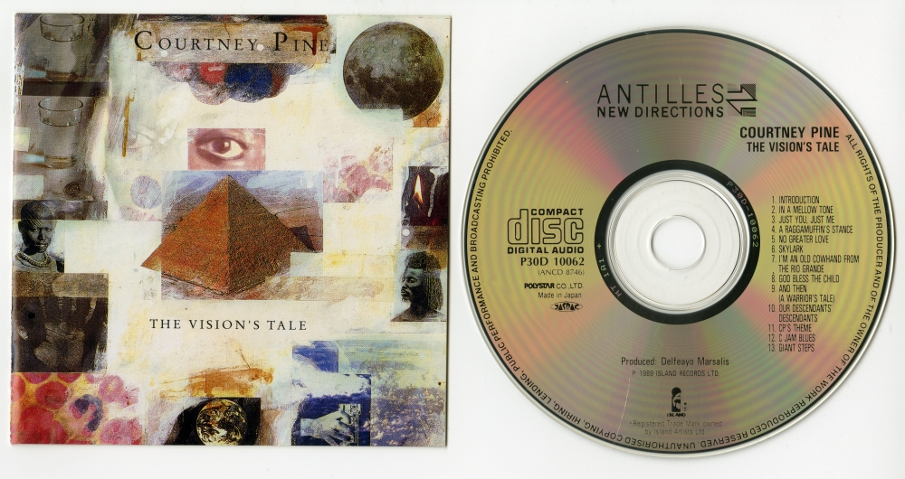 Courtney Pine『The Vision's Tale』(1989年、Antilles)