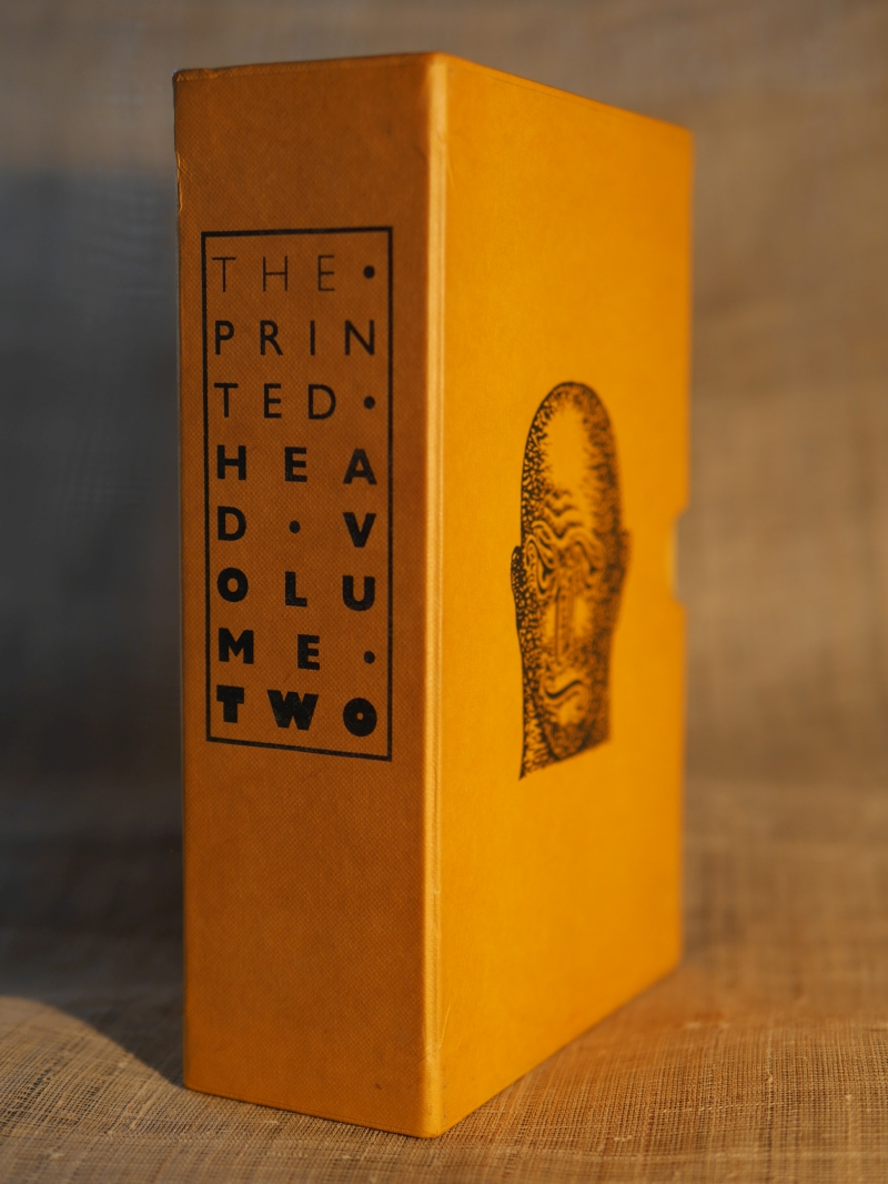 1992・1993年の『THE PRINTED HEAD』第2巻
