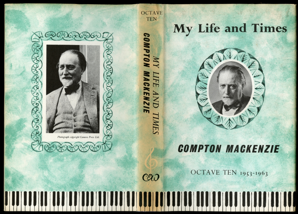 Compton Mackenzie『MY LIFE AND TIMES』OCTAVE TEN