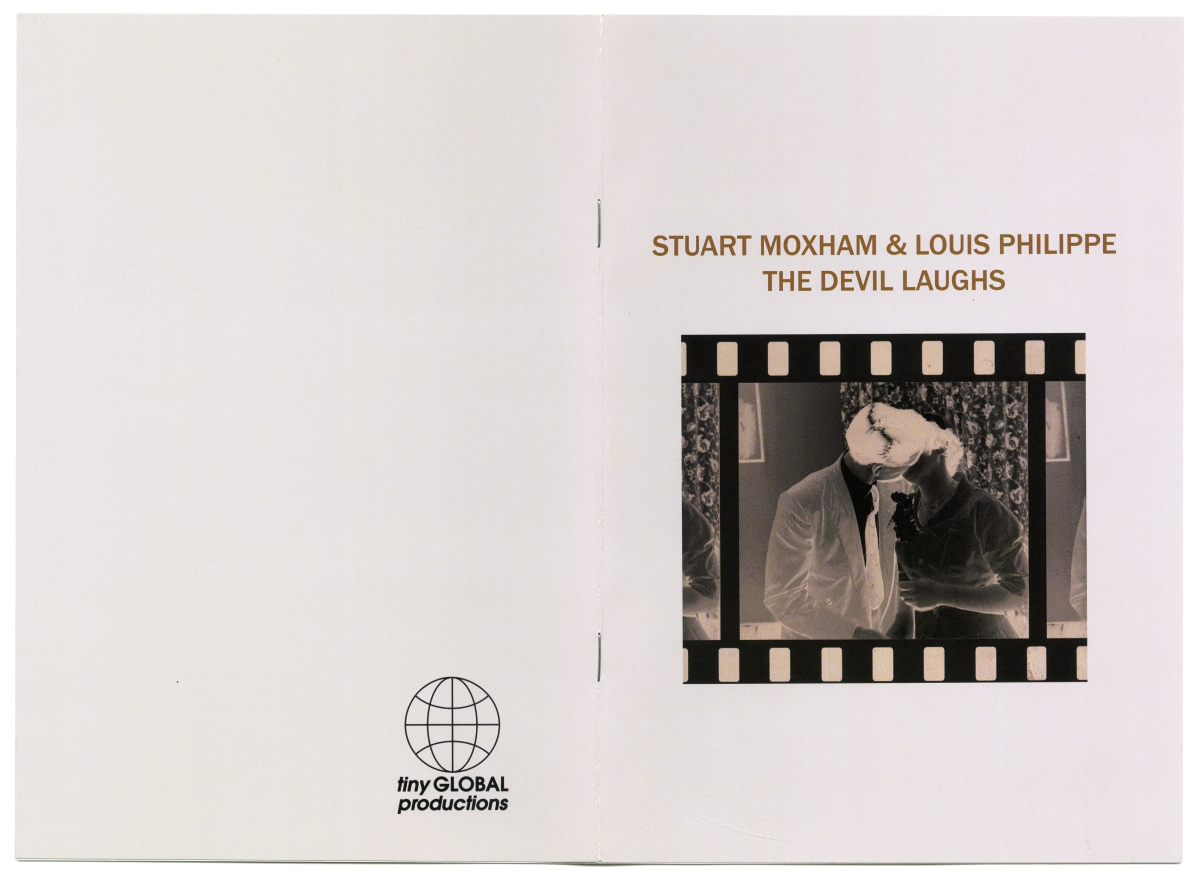 Stuart Moxham & Louis Philippe『The Devil Laughs』ブックレット01