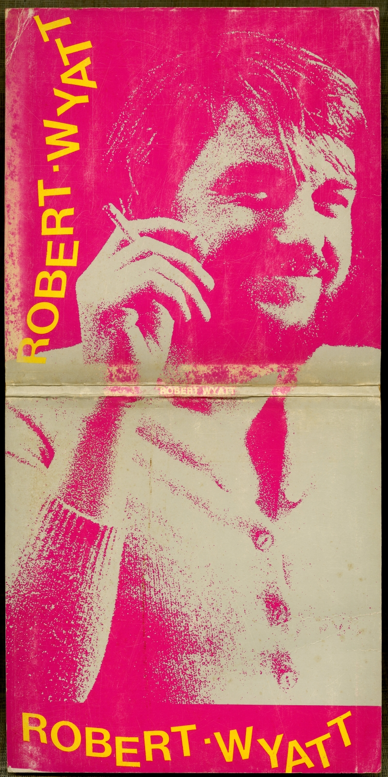 『ROBERT WYATT』(1987、Stampa Alternativa)表紙