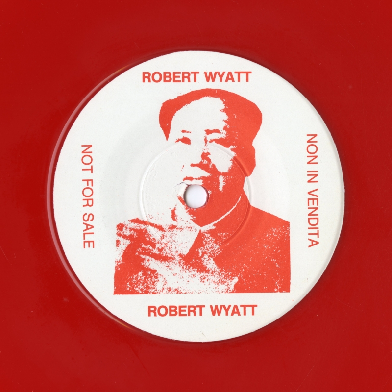 Robert Wyatt「Chairman Mao」の片面盤のラベルSide B