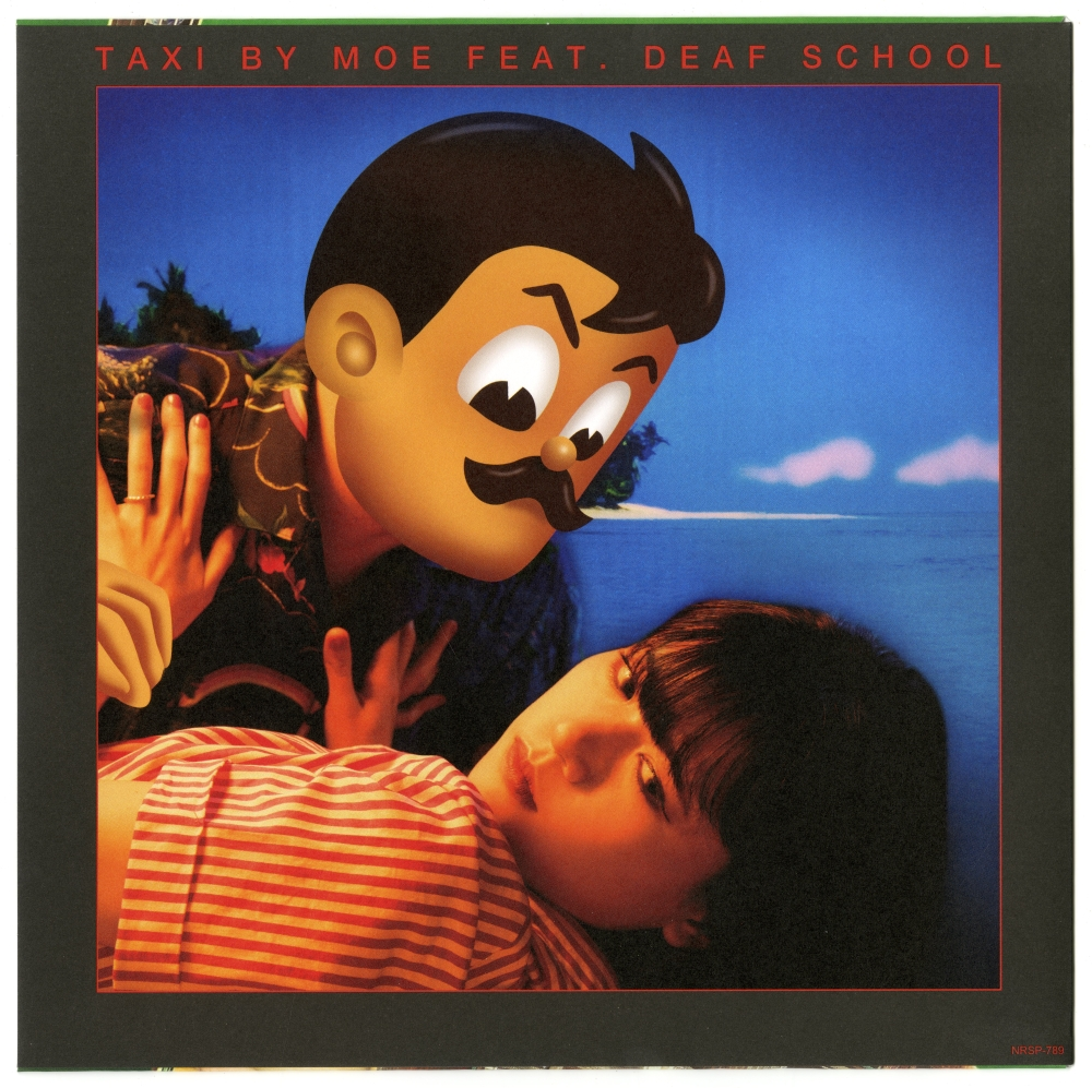 A' side MOE Feat. DEAF SCHOOL「TAXI」ジャケ