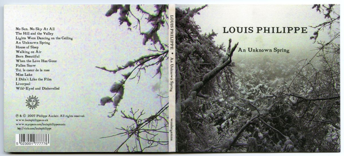 Louis Philippe『An Unknown Spring』 01
