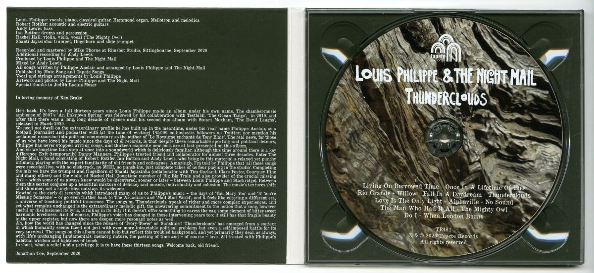 Louis Philippe & The Night Mail『Thunderclouds』02