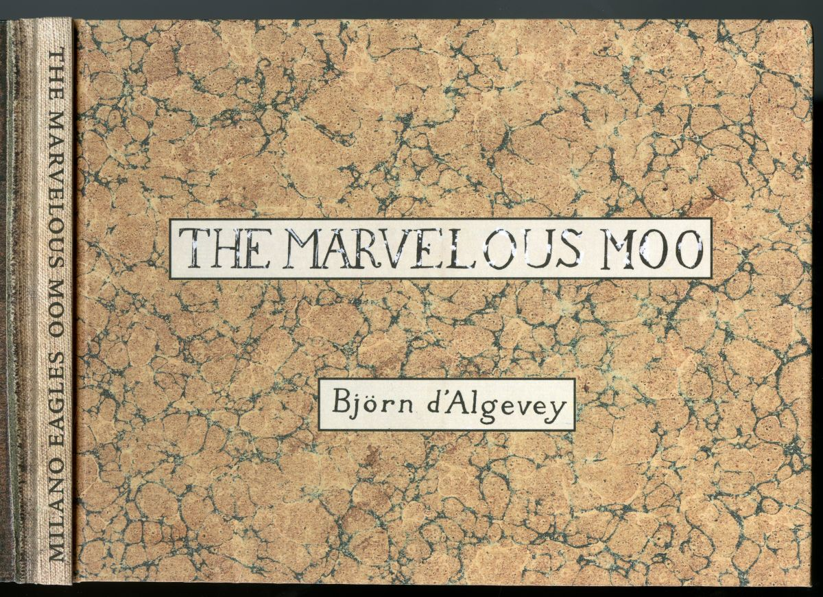 『THE MARVELOUS MOO』表紙